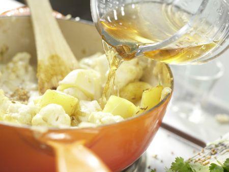 Kartoffel-Blumenkohl-Curry: Zubereitungsschritt 6
