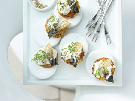 Kartoffel-Crostini