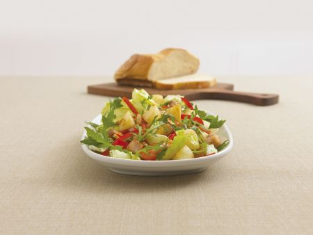 Kartoffel-Forellen-Salat mit Rauke