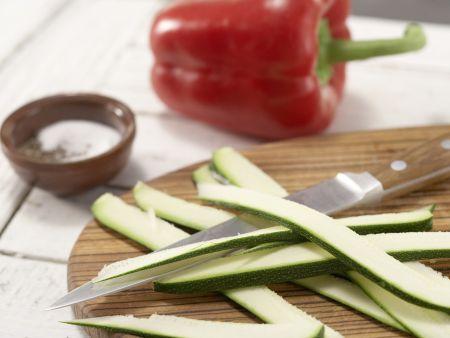 Kartoffel-Gemüse-Tortilla: Zubereitungsschritt 1