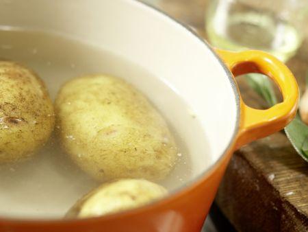 Kartoffel-Gnocchi: Zubereitungsschritt 1