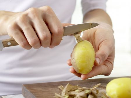 Kartoffel-Gurken-Salat: Zubereitungsschritt 3