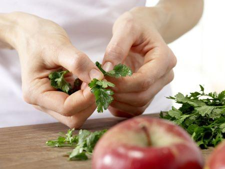 Kartoffel-Gurken-Salat: Zubereitungsschritt 5
