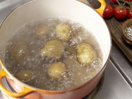 Kartoffel-Kohlrabi-Puffer: Zubereitungsschritt 1