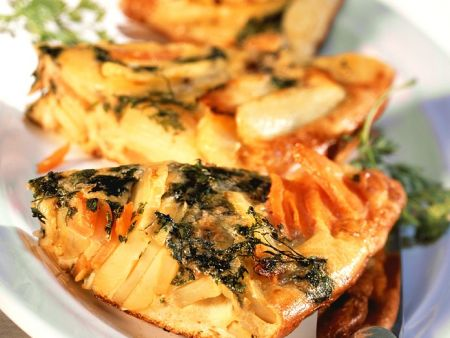 Kartoffel-Möhren-Tortilla