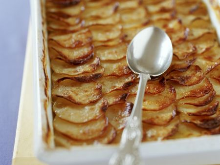 Kartoffel-Pastinaken-Auflauf