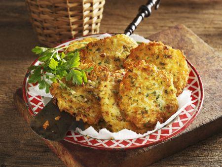 Kartoffel-Petersilienwurzel-Küchlein