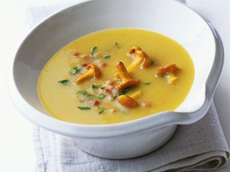 Kartoffel-Pfifferlings-Suppe