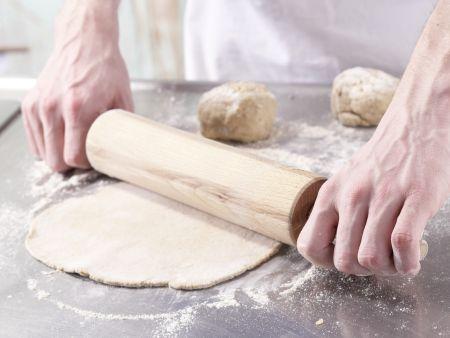 Kartoffel-Quark-Pizza: Zubereitungsschritt 6