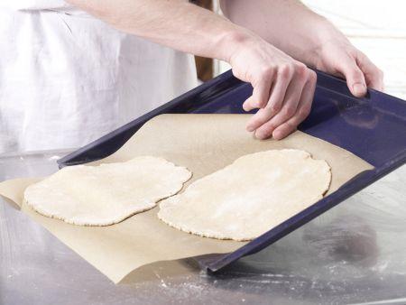 Kartoffel-Quark-Pizza: Zubereitungsschritt 7