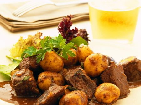 Kartoffel-Rindfleisch-Topf