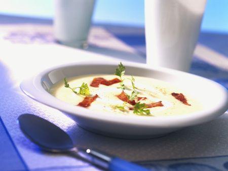 Rezept: Kartoffel-Sauerkrautsuppe