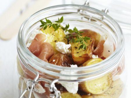 Kartoffel-Schinken-Salat