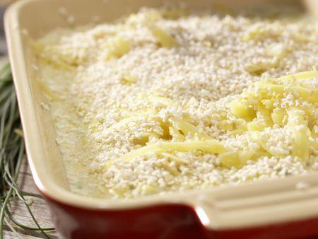 Kartoffelauflauf mit Amaranth: Zubereitungsschritt 8