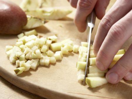 Kartoffelbrei mit Hähnchenleber: Zubereitungsschritt 3