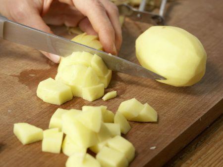 Kartoffelbrei mit Roter Bete: Zubereitungsschritt 1