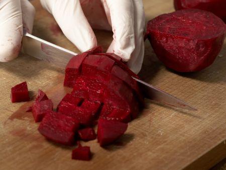 Kartoffelbrei mit Roter Bete: Zubereitungsschritt 2
