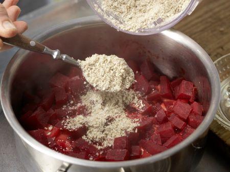Kartoffelbrei mit Roter Bete: Zubereitungsschritt 5