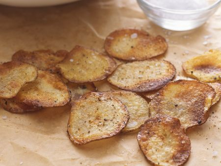 Rezept: Kartoffelchips