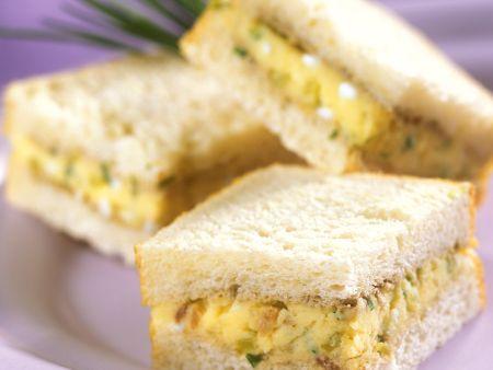Kartoffelcreme-Sandwich