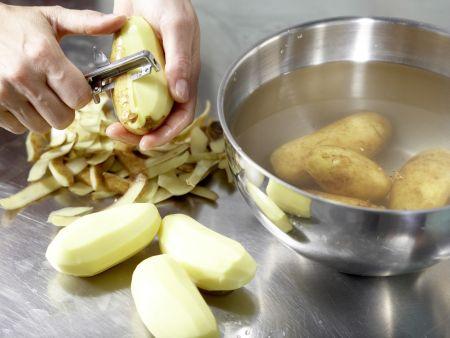 Kartoffelgratin – smarter: Zubereitungsschritt 1
