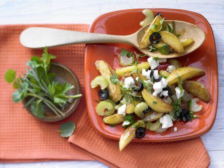 Kartoffeln auf griechische Art
