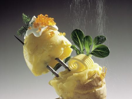 Kartoffeln mit Kaviar