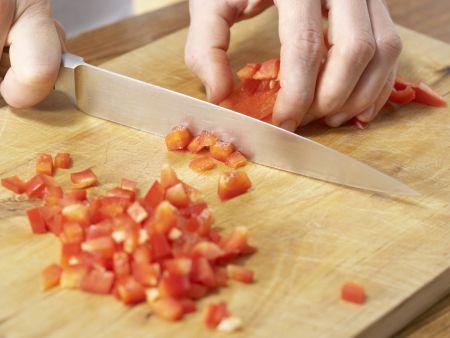 Kartoffeln in Paprika-Rahmsauce: Zubereitungsschritt 6