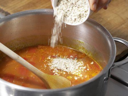 Kartoffeln in Paprika-Rahmsauce: Zubereitungsschritt 7