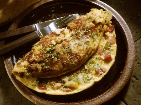 Kartoffelomelett