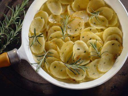 Kartoffelpfanne mit Rosmarin
