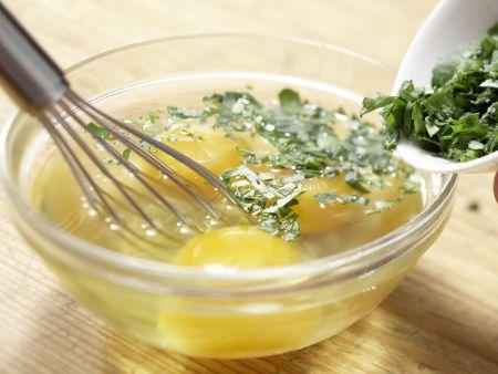 Kartoffelpfanne mit Schinken: Zubereitungsschritt 5