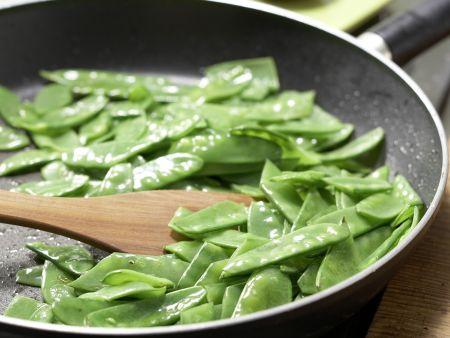 Kartoffelpfanne mit Schinken: Zubereitungsschritt 6