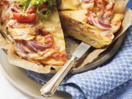 Kartoffelpfannkuchen (Pillekuooken)