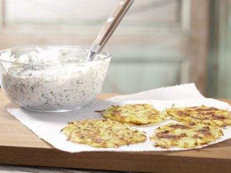 Kartoffelrösti mit Kräuterquark: Zubereitungsschritt 6