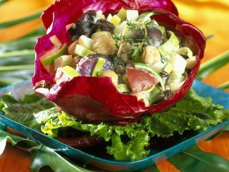 Kartoffelsalat mit Gemüse