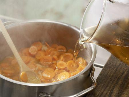 Kartoffelsalat mit Würstchen: Zubereitungsschritt 2