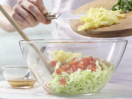 Kassler-Krautsalat: Zubereitungsschritt 10