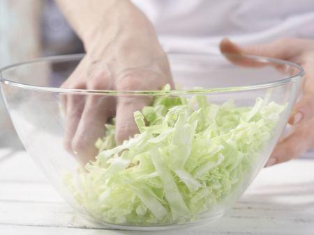 Kassler-Krautsalat: Zubereitungsschritt 2