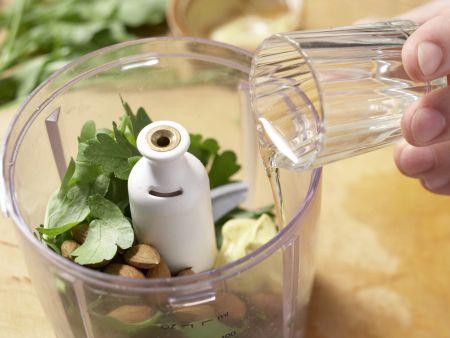 Kasslerbraten mit Kräutersauce: Zubereitungsschritt 8