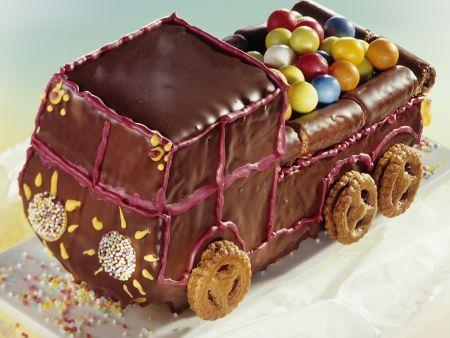 Kaugummi-Lastwagen zum Kindergeburtstag