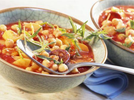 Kichererbsen-Chorizo-Eintopf