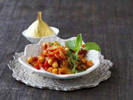 Kichererbsen-Tomaten-Curry