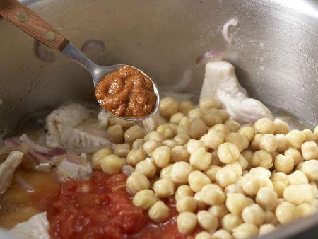 Kichererbsen-Tomaten-Ragout: Zubereitungsschritt 5
