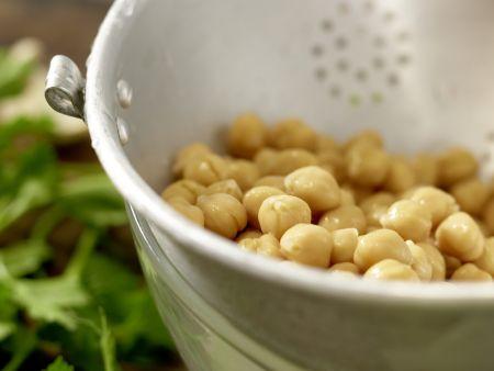 Kichererbsenbällchen im Pita-Brot: Zubereitungsschritt 2