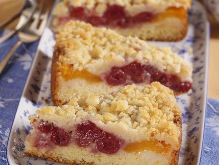 Kirsch-Aprikosen-Kuchen