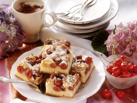 Rezept: Kirsch-Streusel-Kuchen