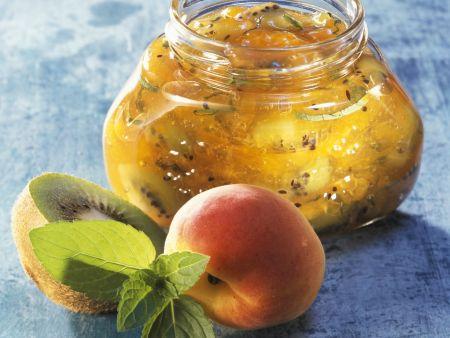 Kiwi-Aprikosen-Marmelade