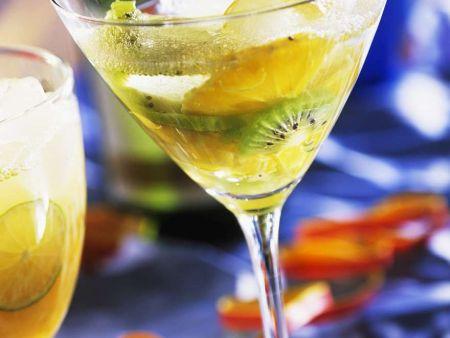 Kiwi-Orangen-Drink