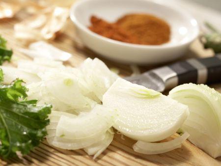 Klare Grünkohlsuppe: Zubereitungsschritt 2